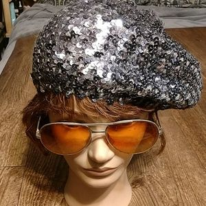 Beautiful sequin style beret